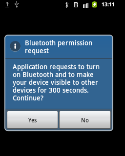 Bluetooth Data Transfer with Android - DZone Mobile